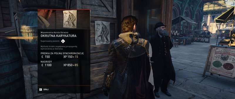assassins creed syndicate misja darwin