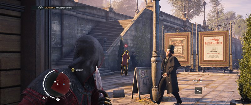 assassins creed syndicate, skradanie